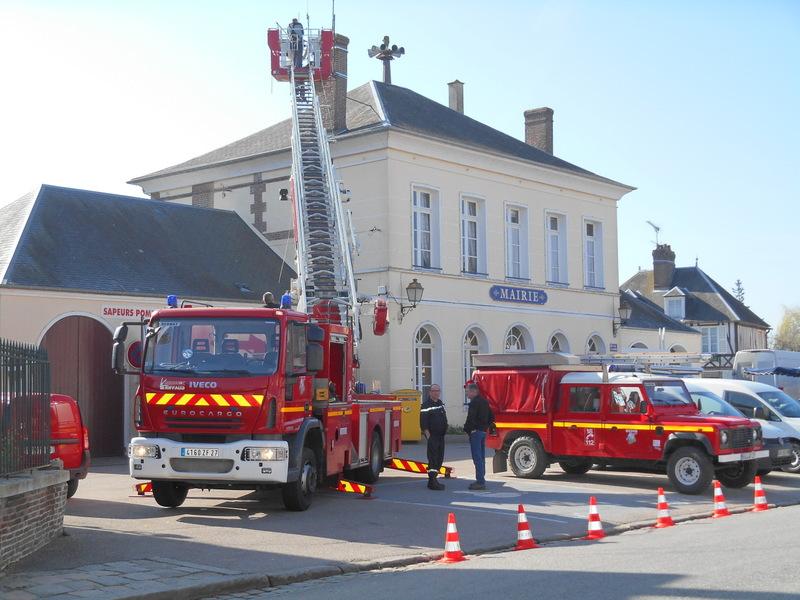 Mairie et pompiers