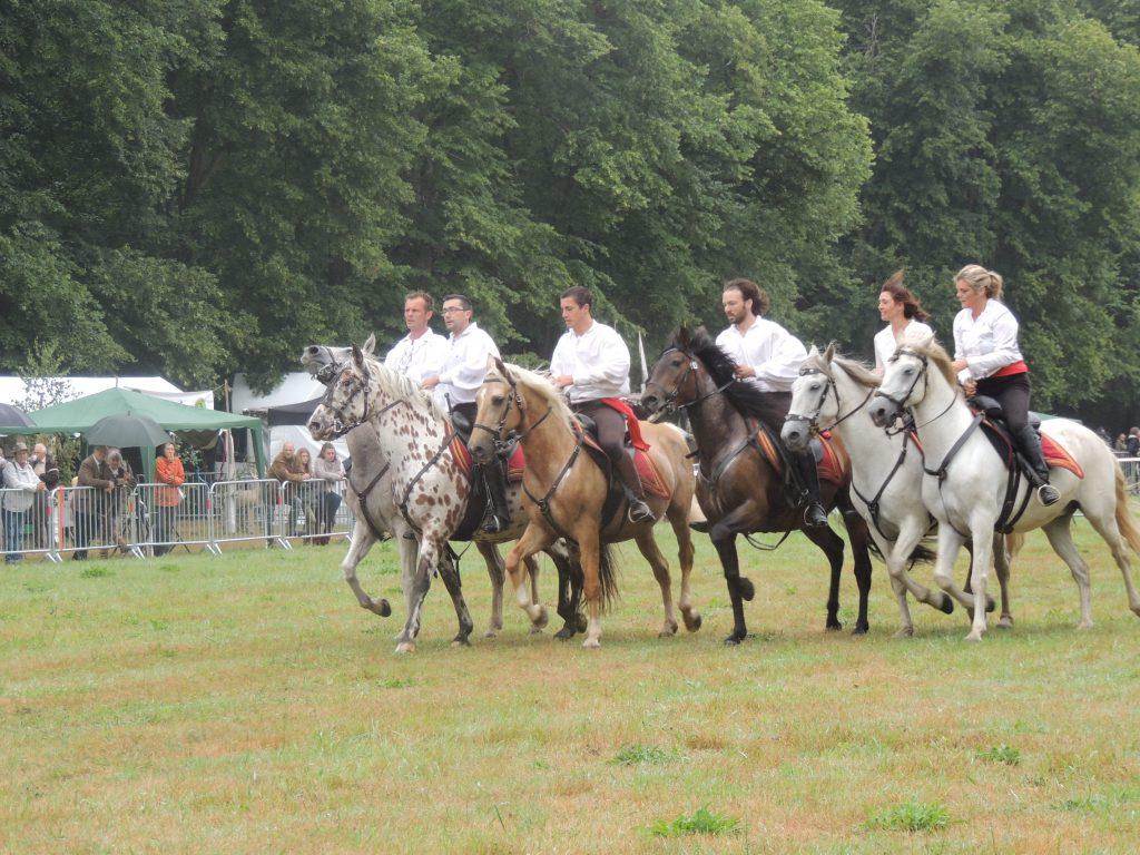La fête du Cheval au château de Beaumesnil juillet 2017