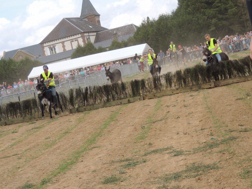 La course des ânes, Gisay-la-Coudre 15 août 2017