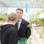 La ferme des fruits du Pays d'Ouche aux Jonquerets-de-Livet production de fraises