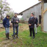 Rencontre de Vincent Ozieblo et Sophie Beauvois, la ferme des Clos mignons à Sainte-Marguerite-en-Ouche.