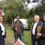 Visite de l'élevage de chèvres et moutons de la Ferme des Clos mignons