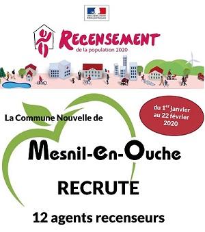 Mesnil-en-Ouche recrute
