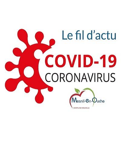 COVID-19 Le fil d'actualités