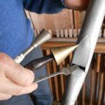 harmonisation d'un tuyau de prestant
