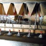 intérieur du sommier: soupapes, crochets, boursettes (étanchéité à l'air)