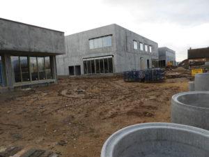 Campus éducatif travaux janvier 2021