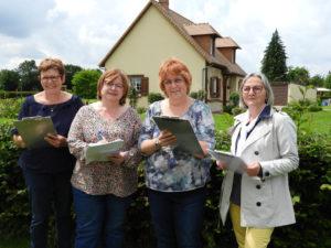 Jury du concours des maisons fleuries 2021